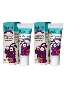 [Best Buy for 2] Buds: Children's Toothpaste with Xylitol C Blackcurrant 50gm