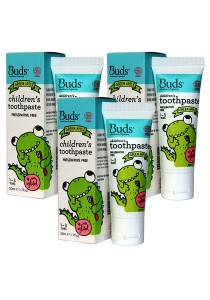 [Best Buy for 3] Buds: Children's Toothpaste with Xylitol - Green Apple 50gm