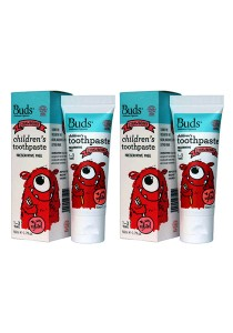 [Best Buy for 2] Buds: Children's Toothpaste with Xylitol C Strawberry 50gm