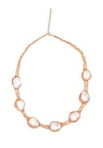 Beaver Baroque Fresh Water Pearl Necklace