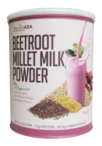 Pack of 2 Nourish Asia I-Organic Beetroot Millet Milk
