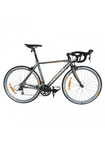 Cronus Belgium 310N 700C Road Bike 16-speed - (Matte Grey/Orange) Ct:510Mm