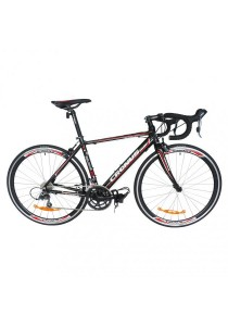 Cronus Belgium 310N 700C Road Bike 16-speed - (Black/Red) Ct:480Mm