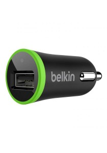 Belkin 2.1A Single Port USB Car Charger Black