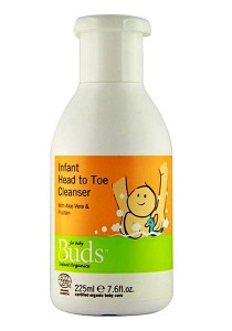 Buds Everyday Organic: Head to Toe Cleanser 225ml