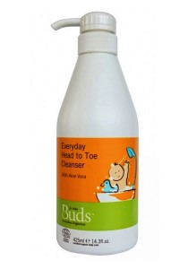 Buds Everyday Organic: Head to Toe Cleanser 425ml