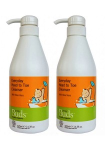 [Best Buy for 2] Buds Everyday Organic: Head to Toe Cleanser 425ml