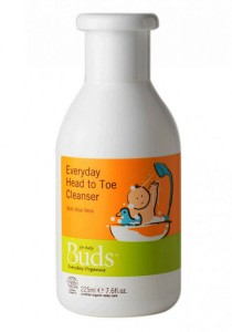 Buds Everyday Organic: Infant Head to Toe Cleanser 225ml