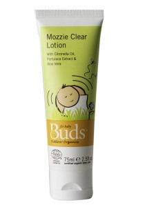 Buds Everyday Organic: Mozzie Clear Lotion 75ml