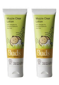[Best Buy for 2] Buds Everyday Organic: Mozzie Clear Lotion 75m