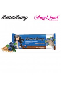 Betterbump Bar Dark Chocolate - Convenient Snack For Pregnant Mums (Blueberry)