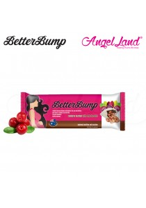 Betterbump Bar Dark Chocolate - Convenient Snack For Pregnant Mums (Cranberry)