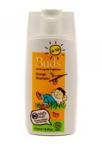 Buds For Kids: Orange Shampoo 250ml