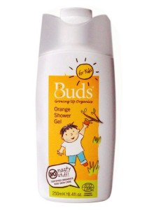 Buds For Kids: Orange Shower Gel 250ml