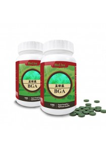 Newco Biolina Spirulina BGA 1000 Tablets X 2