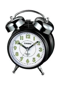 Casio TQ-362-1B Table Clock & Alarm