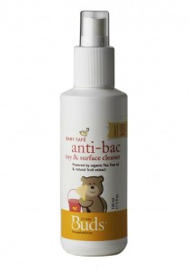 Buds Household Eco: Baby Safe Anti-Bac Toy & Surface Cleaner 150ml