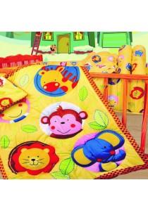 OWEN Baby 4 -Piece Comforter Set - Animal Portrait
