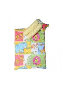 OWEN Baby 4 -Piece Comforter Set - Happy Animals