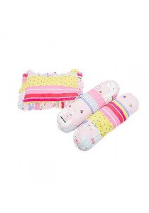 OWEN Baby 2 Bolster & 1 Pillow Set -  Happy Hippo