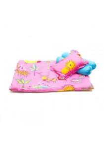 OWEN Baby 4 -Piece Comforter Set - Stroll in the Park (Blue/Pink)