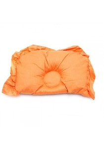 OWEN Baby Semi-Circle Pillow - Stroll in the Park (Orange)