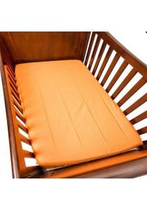 OWEN Crib Sheet for Baby Mattress - Stroll in the Park (Orange)