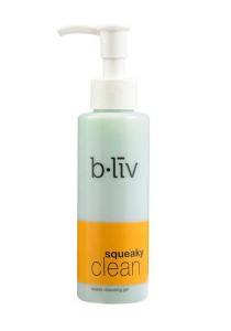 b.liv squeaky clean 130ml (beads cleansing gel)-bliv