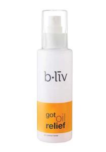 b.liv got oil relief 130ml (oil-control toner)-bliv