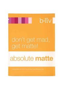 b.liv absolute matte 7pcs (original japan silk mask)-bliv