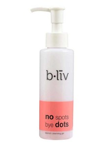 b.liv no spots bye dots 130ml (blemish cleansing gel)-bliv