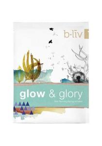 b.liv glow & glory 3pcs (skin reviving biological mask)-bliv