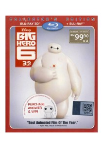 Bluray 3D Big Hero 6