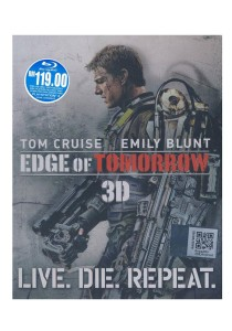 Bluray 3D Edge Of Tomorrow
