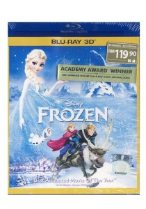 Bluray 3D Frozen