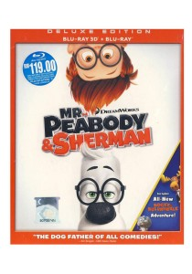 Bluray 3D + Bluray Mr. Peabody & Sherman
