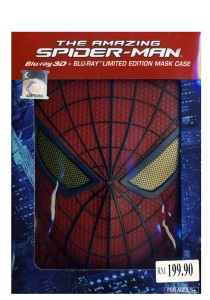 Bluray 3 D The Amazing Spider-Man 1