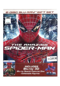 Bluray 3 D The Amazing Spider-Man 1 Gift Set