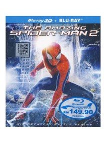 Bluray 3D The Amazing Spider Man 2