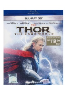 Bluray 3D - Thor 2 The Dark World