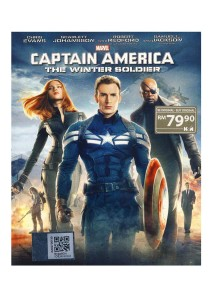 Bluray Captain America The Winter Soldier