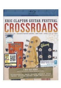 Bluray: Eric Clapton- Crossroads Guitar Festival