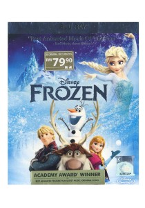 Bluray Frozen