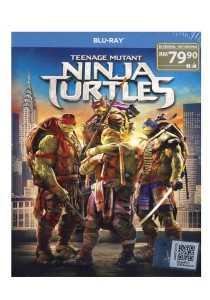 Bluray Teenage Mutant Ninja Turtles