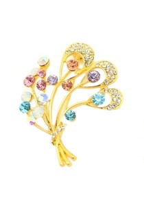 Premium Korean Designed Brooch BMP0008K-M