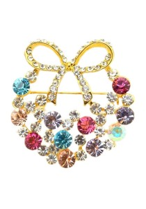 Premium Korean Designed Brooch BMP0009K-M