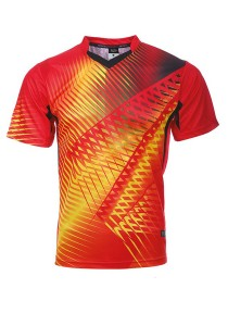 Dye Sublimation Jersey BMT 41 (Red/Yellow)
