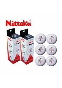 (Bundle of 2 Box) Nittaku 6pcs Ping Pong Ball Star 40 + Table Tennis