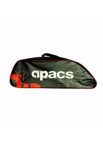 Apacs Single Zips Compartment AP1102 Sling Strap Badminton Bag (Red Black)