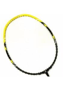 Apacs Ferocious 10 Yellow Black Edition (4U 288mm) World Lightest High Tension Badminton Racket (Frame Only)
